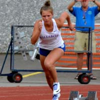 Kennedy Taube HilHi Spartans All-State Track Sprinter