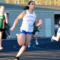 Krissy Taube HilHi Spartans All-State Track Sprinter