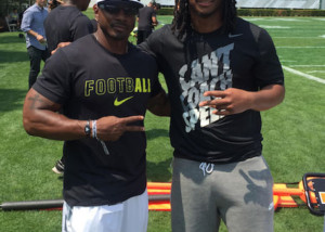 Todd Gurley NFL RB from Nike football camp