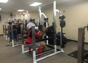 John Barnes Strength and Conditioning at Liberty High School
