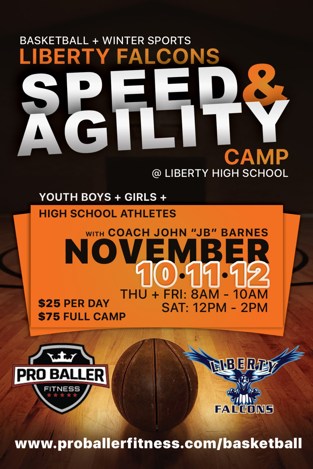Liberty Falcons Speed + Agility Camp