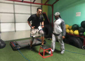 Training Minnesota Vikings NFL TE Nick Truesdell